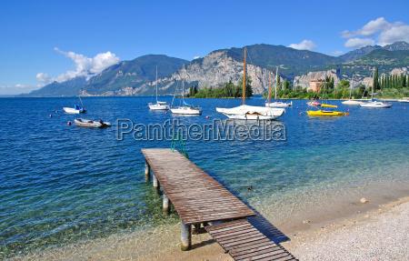 picturesque lake garda