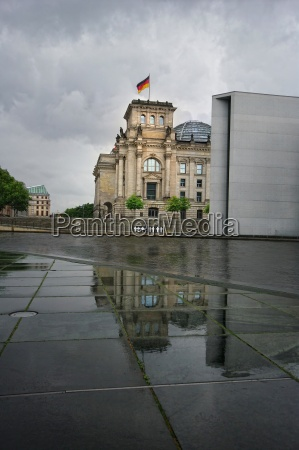 reichstag after the downpour