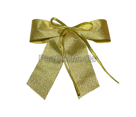 golden bow with path