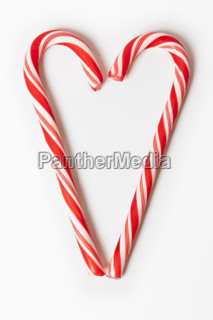 red christmas candy