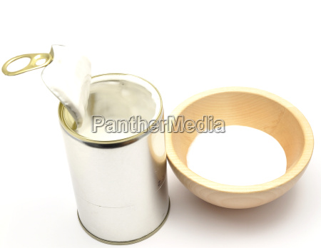 coconut milk from a can