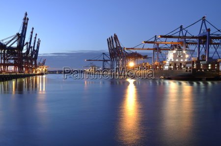 container port hamburg