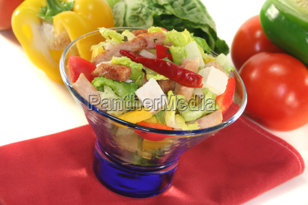 paprika peppers salad tomato healthy