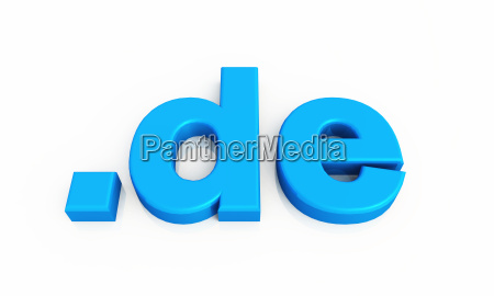 blue 3d de domain 4