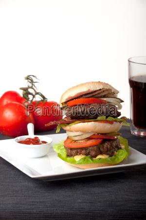 food aliment almost tomatoes tomatos hamburger