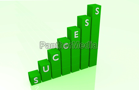 success bar graph