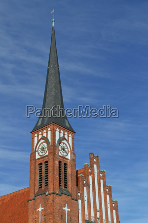 the ansgar church in kiel