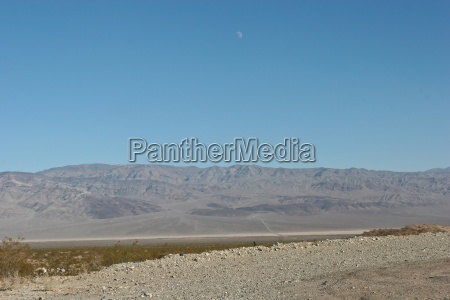 death valley is a desert located