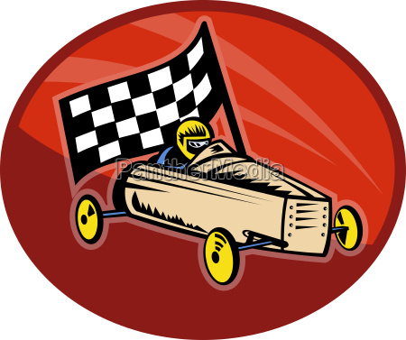 soap box derby racing with race