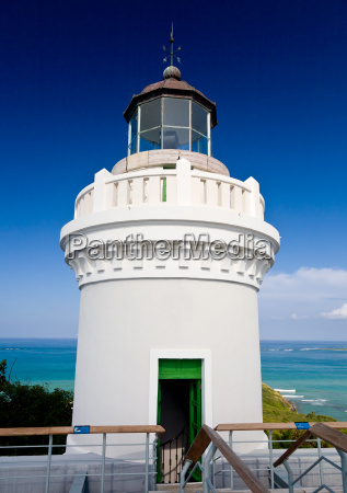 lighthouse on puerto rico north coast