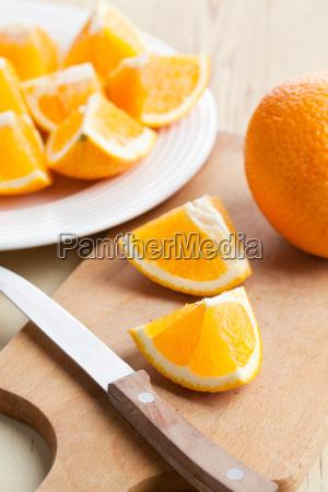 schnitt orange