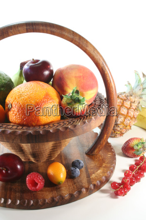 fruit, mix, in, basket - 4308997