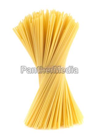 raw spaghetti