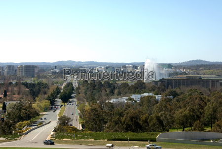canberra city view