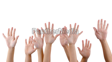 all people raise hands
