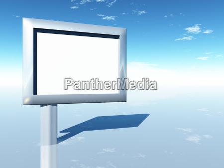 3d blank advertising 4