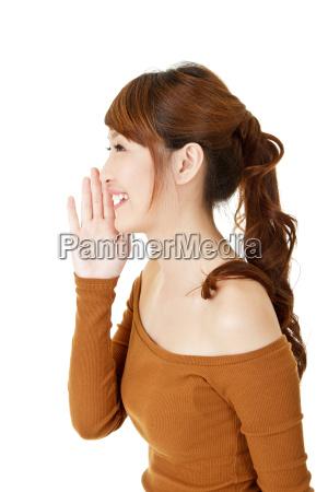 donna parlare parlato parlando chiacchierata risata