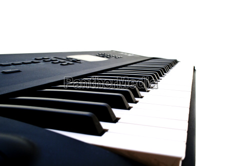 black and white piano key