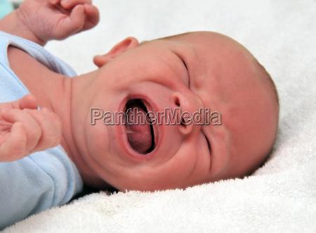 krzyczy baby