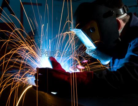 welding steel construction