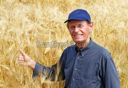 the good harvest farmer in