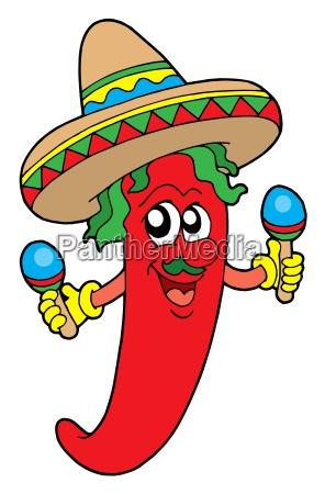 mexican chilli musician