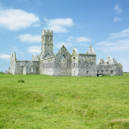 ross errilly priory county galway ireland