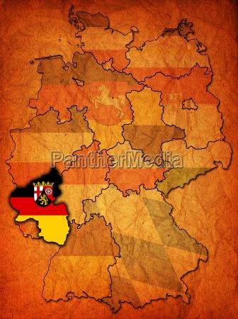rhineland palatinate and other german provincesstates