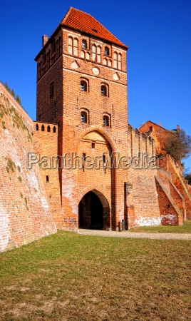 rosspforte and ramparts tangermuende
