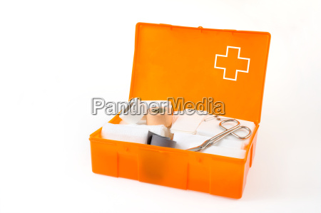 open, first, aid, kit, isolated, on - 4459413