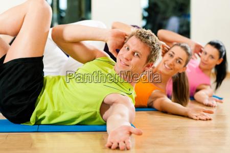 sit ups in gym