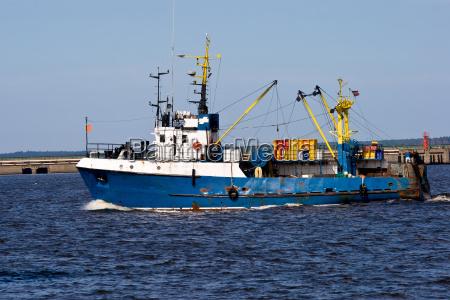 fishing ship
