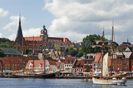 flensburg harbour view