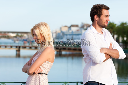 city tourism couple on holiday