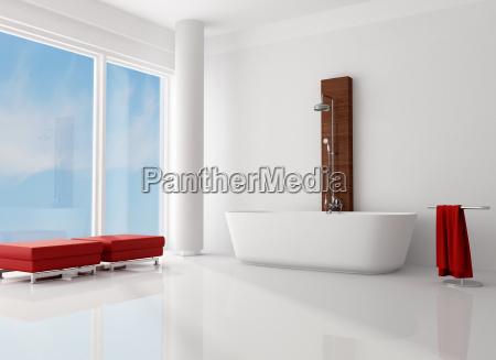 mobiliario interior horizontalmente horizontal banheira partido