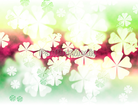 abstract leaf shape background