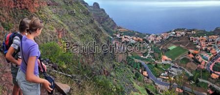 originally coastal village agulo gomera
