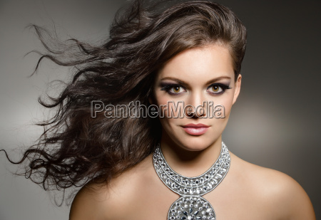 smukke brunette