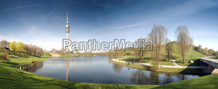 olympic park munich panorama