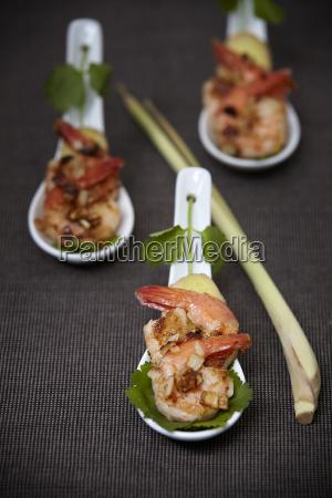 shrimp snack