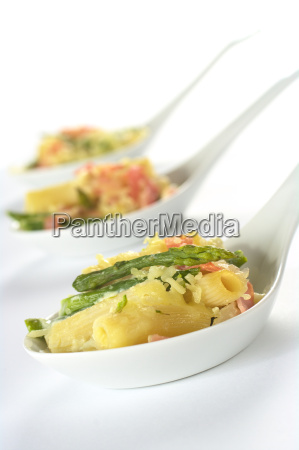 green asparagus ham and pasta casserole
