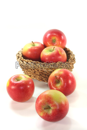food aliment basket fruit apples apple