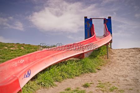 slide in the park