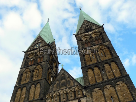st petri cathedral in bremen