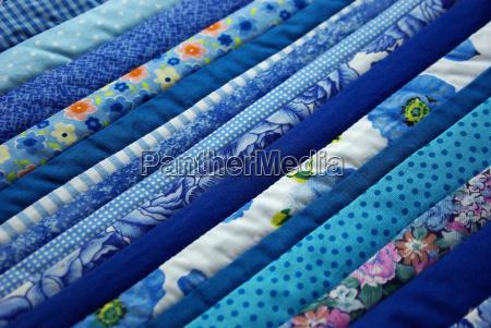 blue patterned cotton substances design shaping