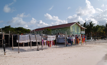 seaside market in antigua barbuda