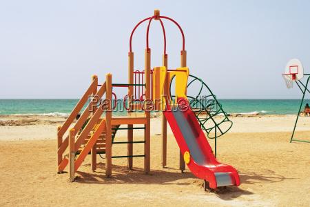 children039s playground by the sea