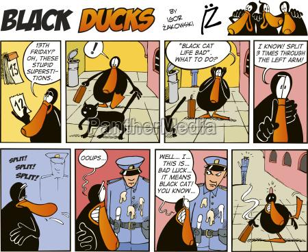 black ducks comics episode 38