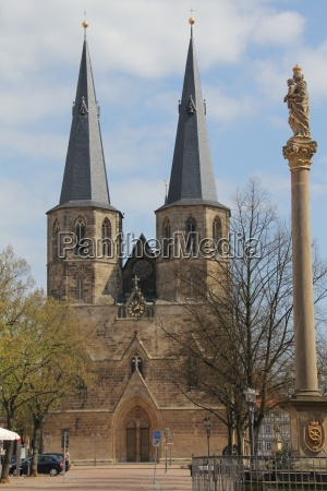 liebfrauenkirche in duderstadt in eichsfeld