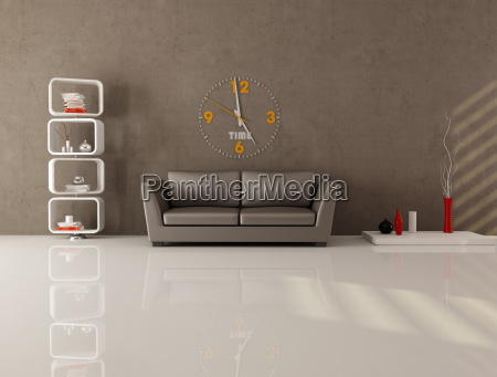 mobiliario moderno interior horizontalmente sofa horizontal